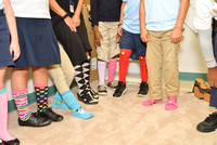 Respect Week 10-5 Crazy Sock Day